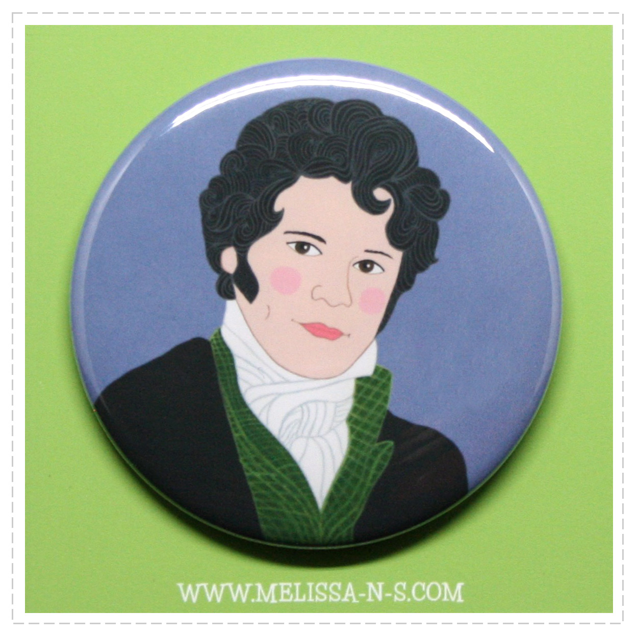 Mr Darcy Button