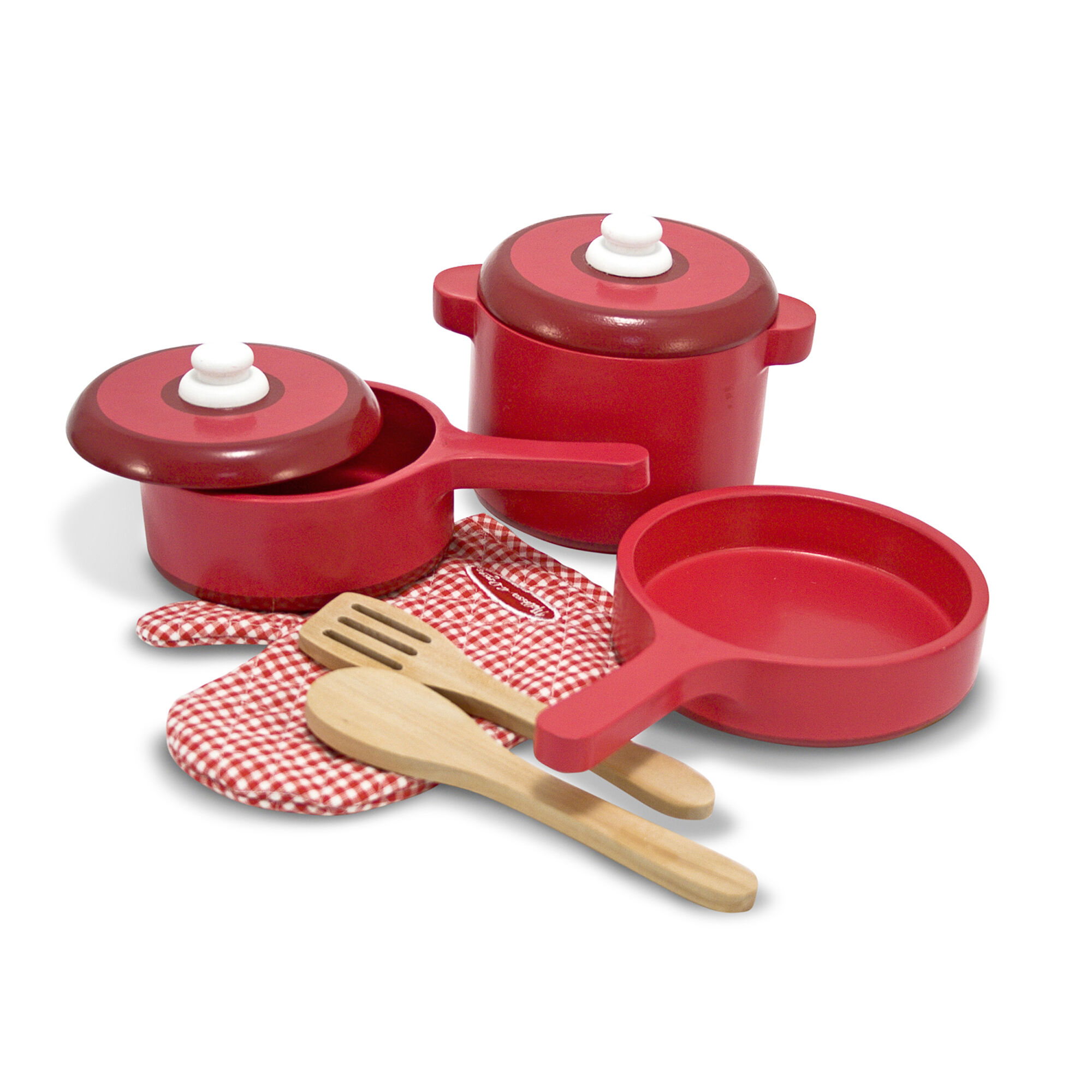 kitchen pots and pans shops play accessory set pot melissa doug