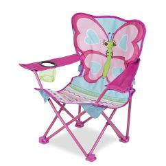 Baby Camp Chair Barrel Chairs For Sale Cutie Pie Butterfly Child Melissa Doug