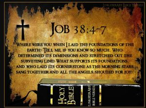 Job 38 and the bible