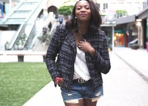 effortless-chic-chanel-jacket-jeanshorts-