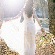 boho bride in island tribe _ melissa chataigne bridal