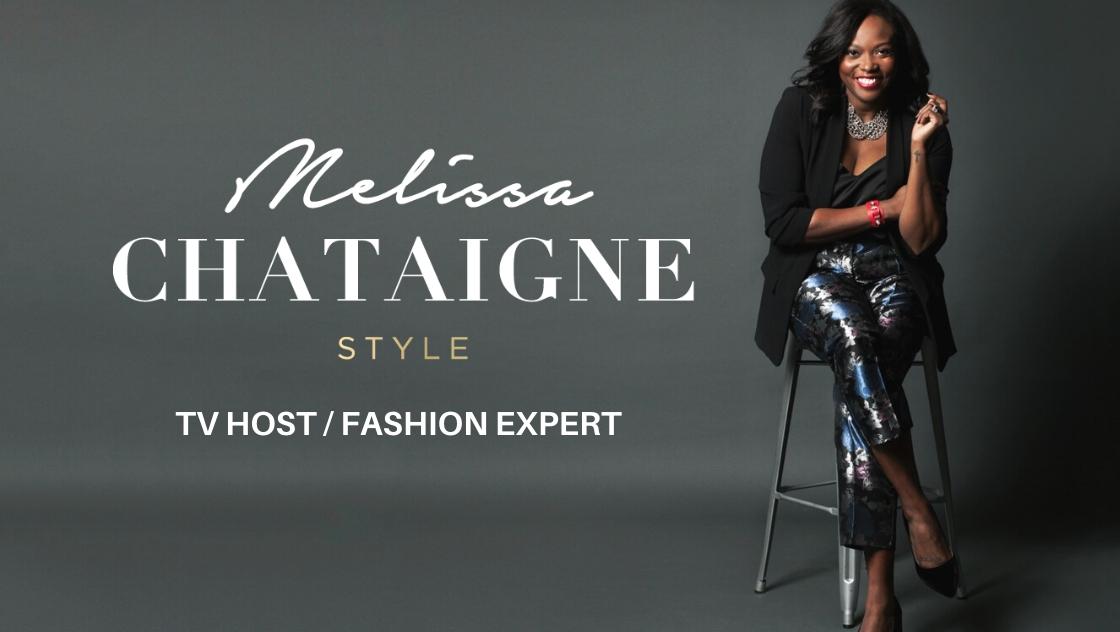melissa chataigne tv host/ fashion expert reel