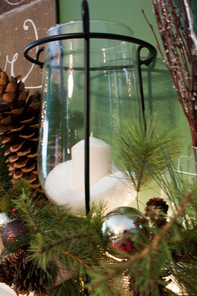 snow-candle-christmas-mantel