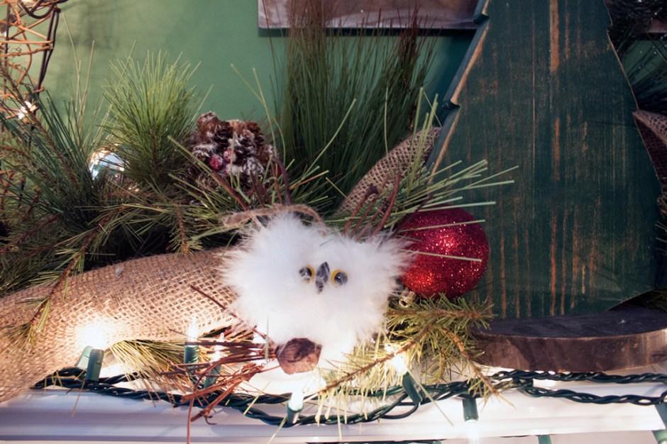 woodland-owl-mantel