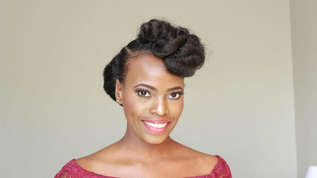 Bridesmaid Natural Hairstyles Updo For The Entire Wedding Party