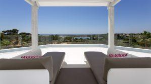top balcony algarve view