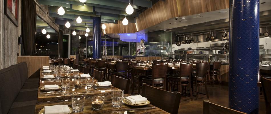paiche restaurant custom interior mural | melissa judson