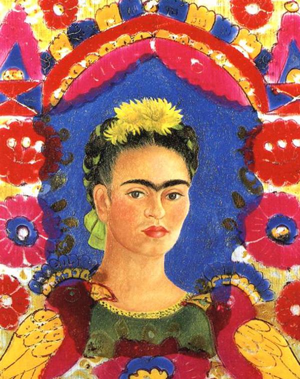 Frida Kahlo Self Portrait The Frame
