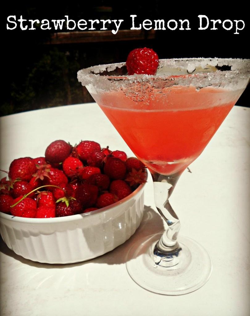 strawberry lemon drop