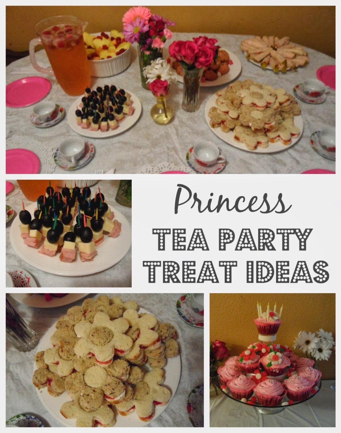 princess tea party treat ideas