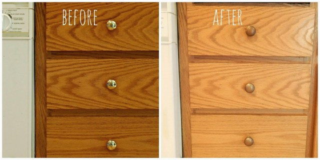 Easy Kitchen Update: How to Pain Cabinet Knobs with Rust-Oleum Universal Spray Paint