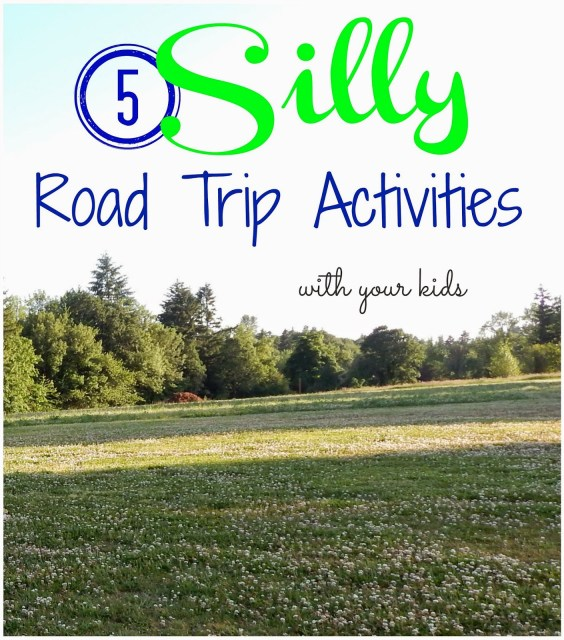 5 Silly Road Trip Activities including a #ZoursFace ! #shop