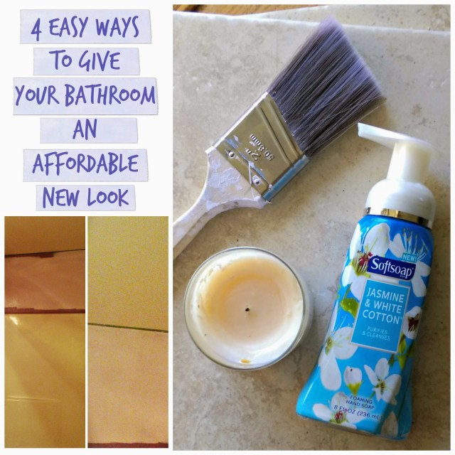 Is it time to give your bathroom an affordable new look? #foamsensations #ad #cbias