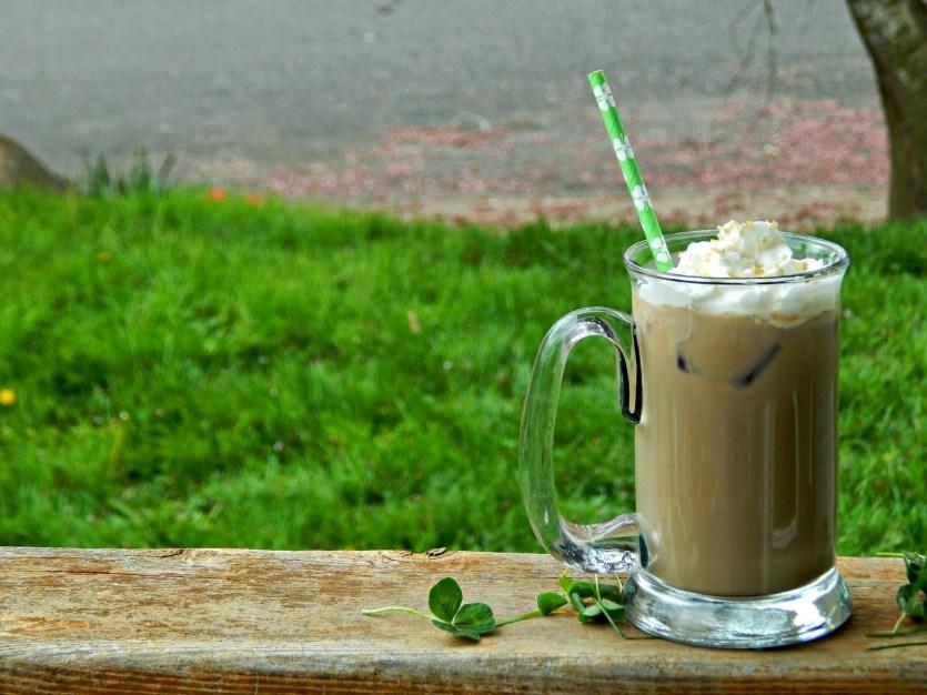 butterscotch Irish Cream Iced Coffee