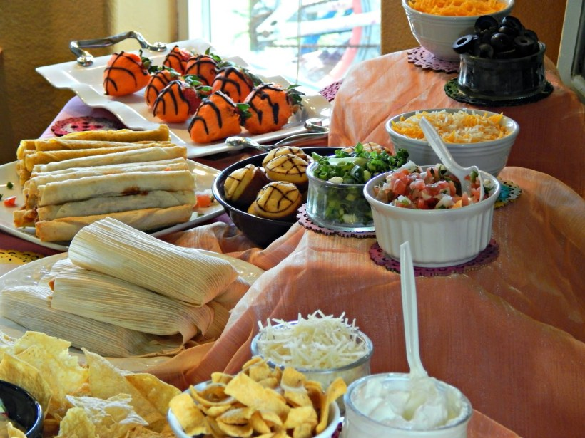 A Basketball Fiesta Party / Chili Bar #DelimexFiesta #ad