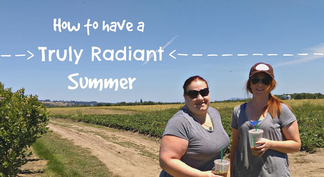 How to have a radiant summer #trulyRadianfinish AD