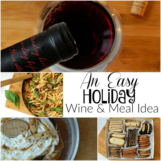Msg 4 21+ An Easy Holiday Wine & Meal Idea #HolidayPariings AD
