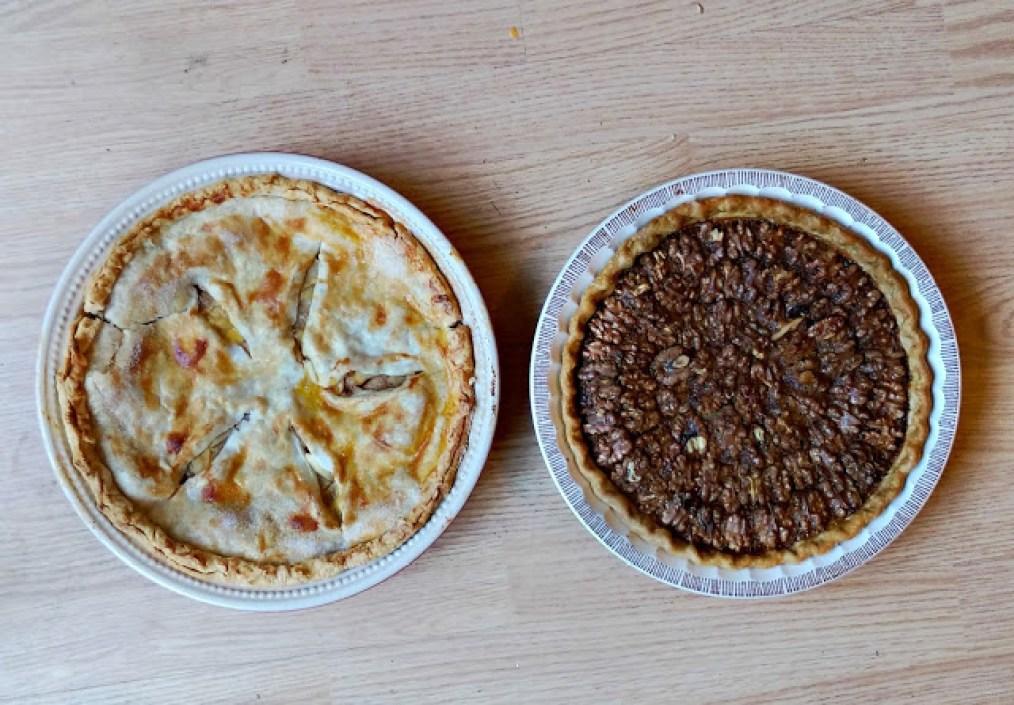 How to make a walnut pie recipe @melissakaylene
