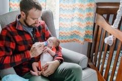 NH At Home Newborn Photos