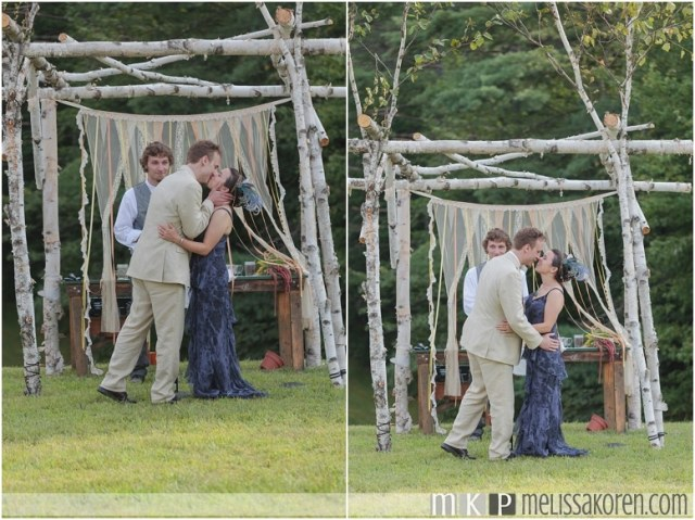 1920's Rustic Wedding Ogontz NH0013