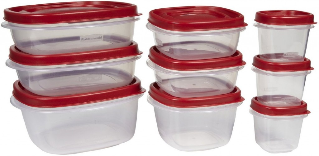 Rubbermaid 18 piece Easy Find Lid Food Storage Set only 999