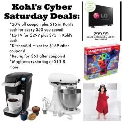 Kitchen Aid Coupons Mosaic Backsplash Kohls Cyber Week Deals Sleepwear Toys Kitchenaid