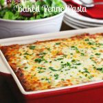 Saucy Baked Penne Pasta