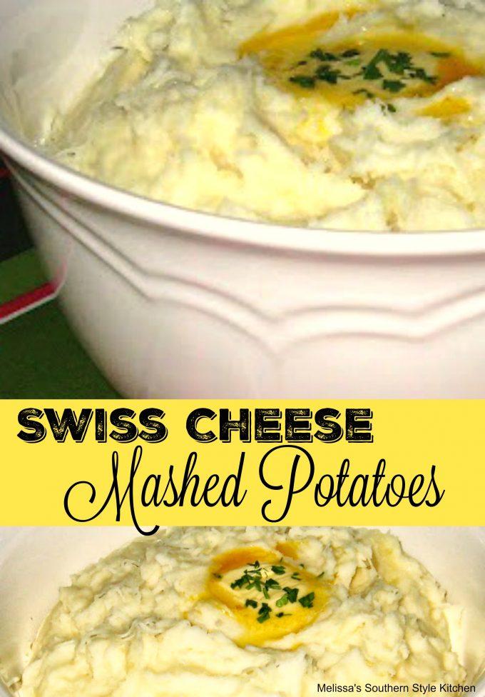 Swiss Cheese Mashed Potatoes