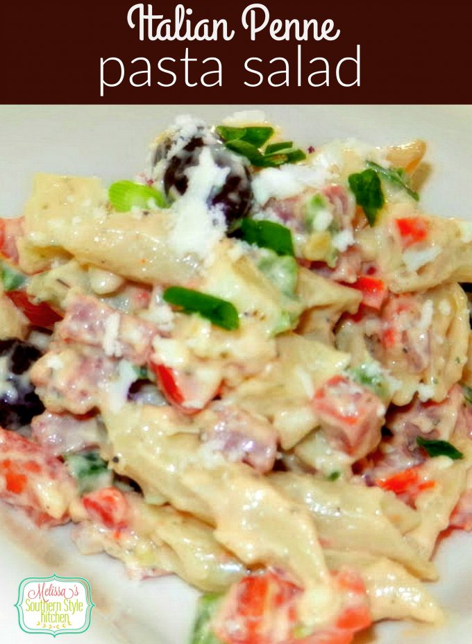 Italian Penne Pasta Salad
