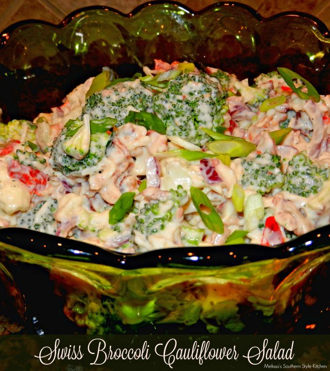 Swiss Broccoli-Cauliflower Salad 005