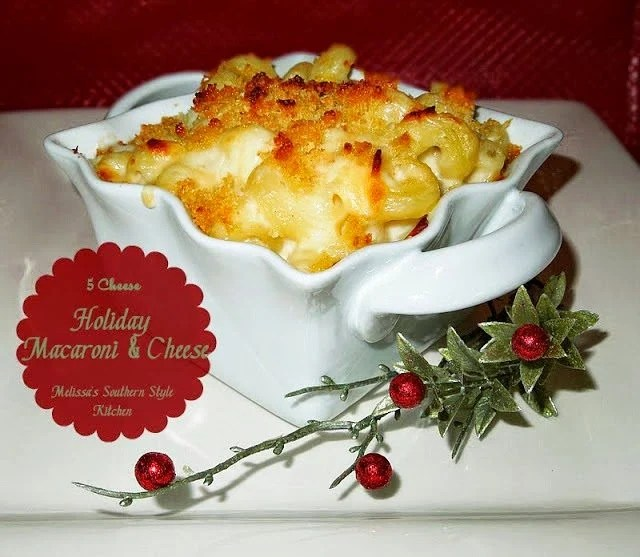 5 Cheese Holiday Macaroni And Cheese