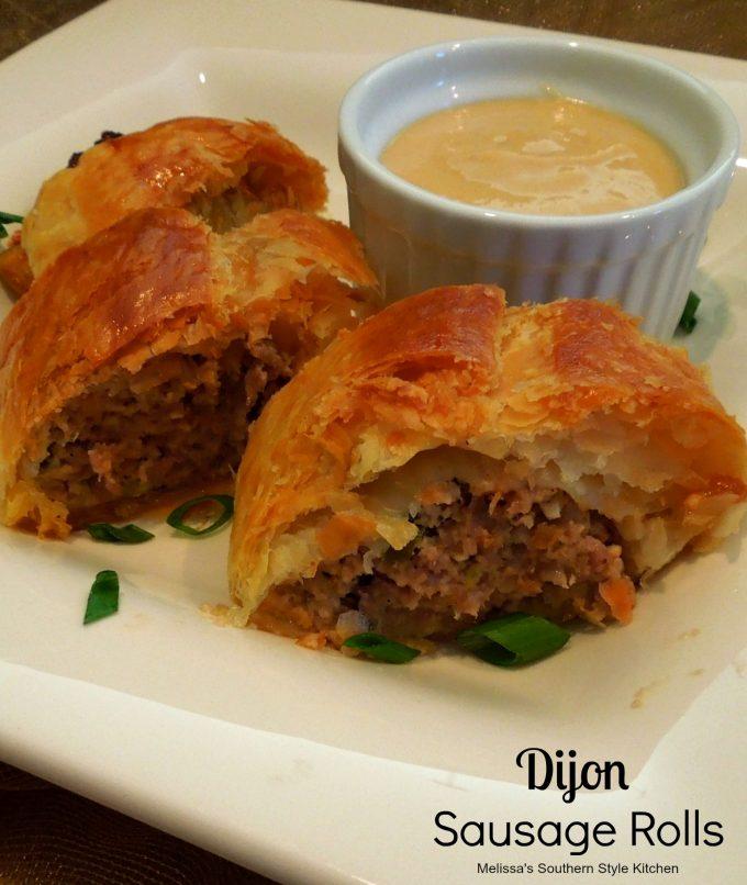 Dijon Sausage Rolls