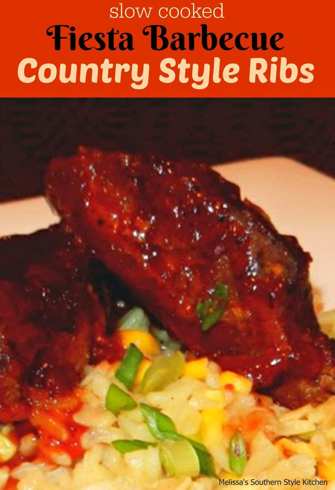Slow Cooked Fiesta Barbecue Country Style Ribs