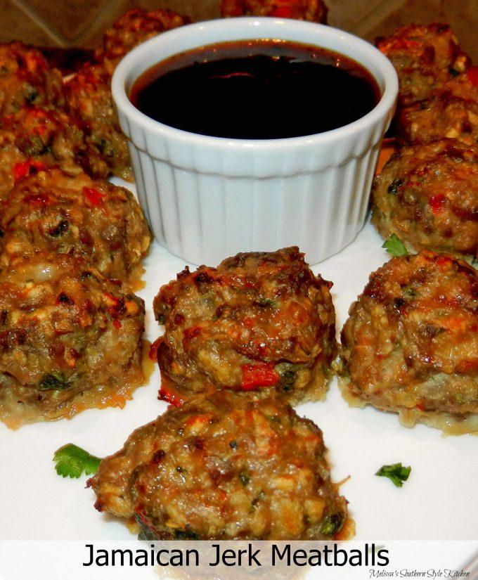 Jamaican Jerk Meatballs