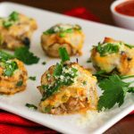 Supreme Pizza Stuffed Mushrooms