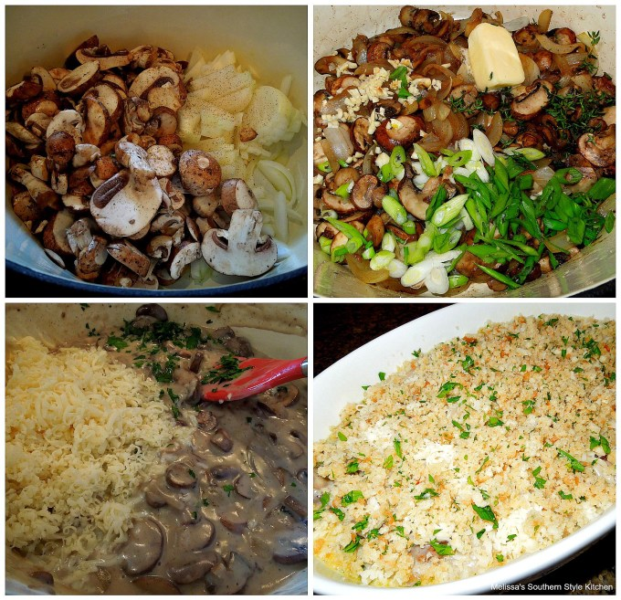 Step-by-step images to prepare Gratin