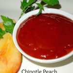Chipotle Peach Barbecue Grillin Sauce