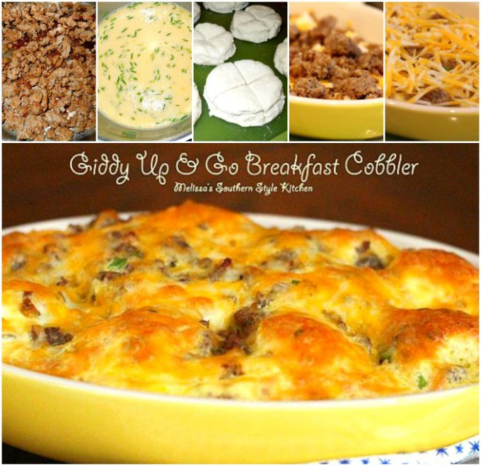 CollageGiddyUp&GoBreakfastCobbler