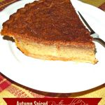 Autumn Spiced Buttermilk Pie
