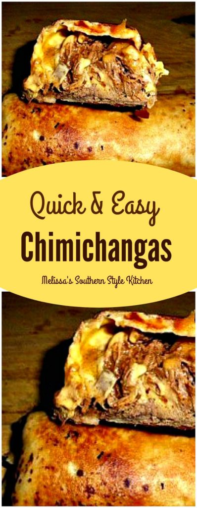 Quick And Easy Chimichangas