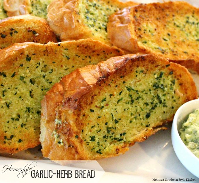 Homestyle Garlic Herb Bread