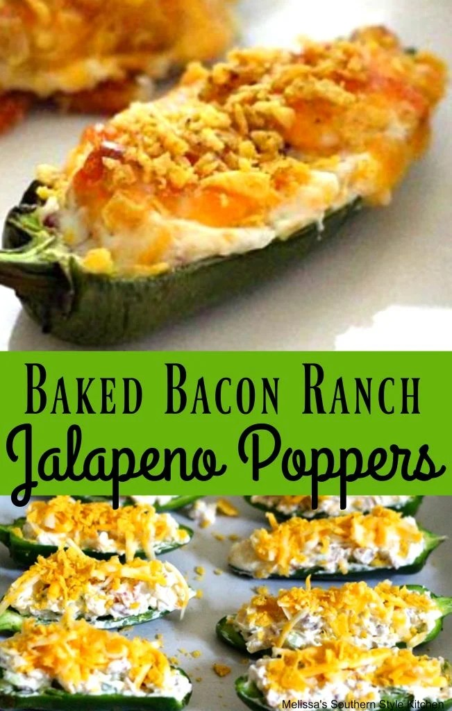 Bacon Ranch Jalapeno Poppers