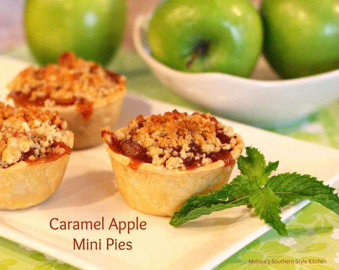 Caramel Apple Mini Pies