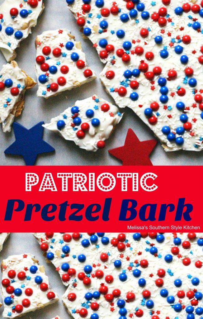 Patriotic Pretzel Bark