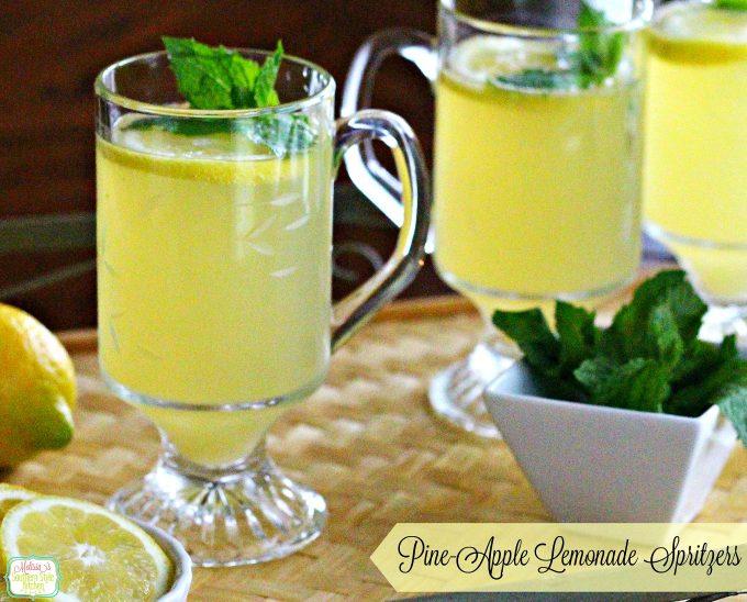 Pine-Apple-Lemonade Spritzer