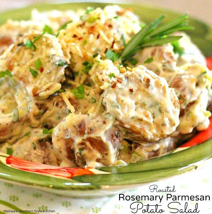 Roasted Rosemary Parmesan Potato Salad