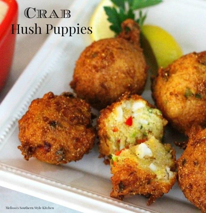 Crab Hush Puppies
