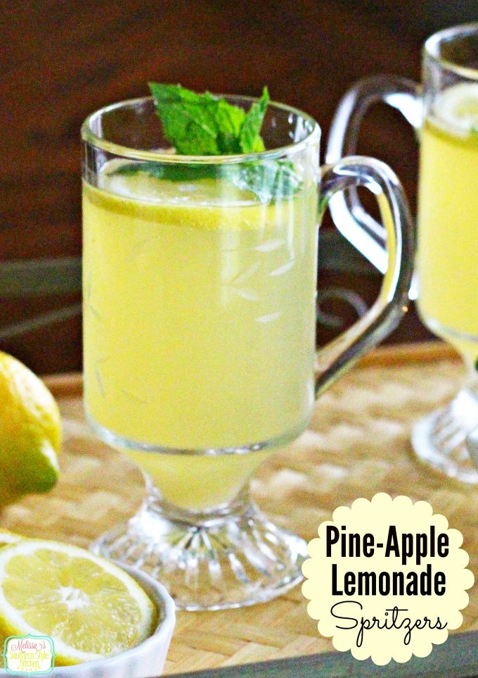 Pine-Apple-Lemonade Spritzer