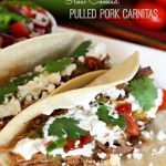 Slow Cooked Pulled Pork Carnitas